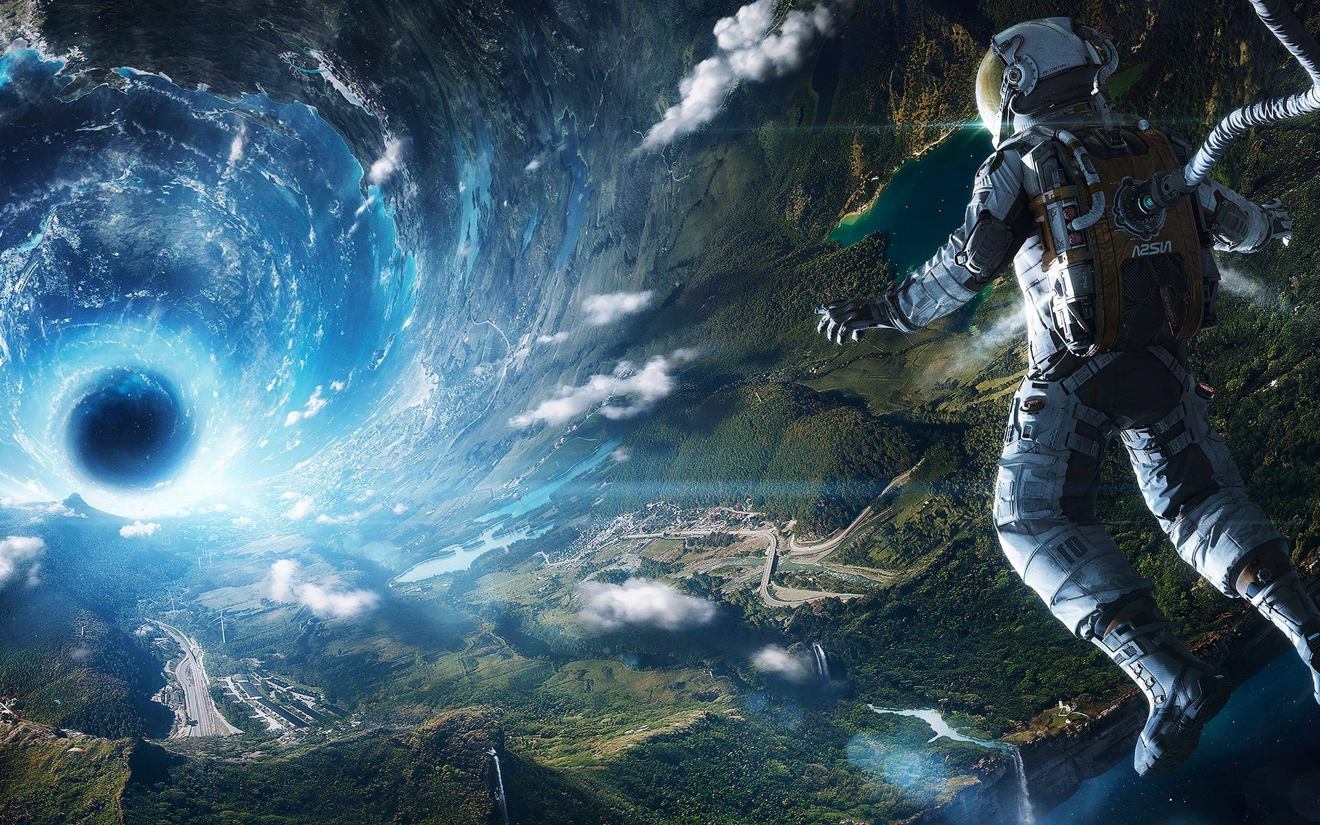 Free Surreal Astronaut Wallpaper For Android Wallpaper Space Astronaut Wallpaper Space Art