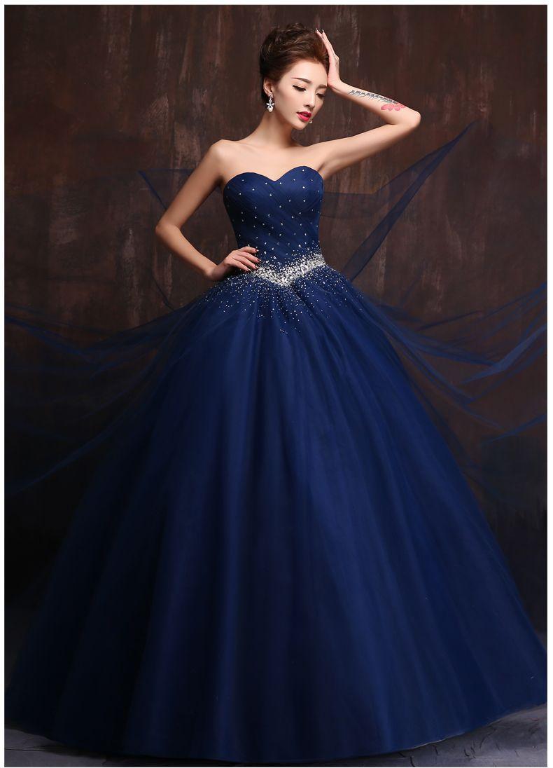 Popular wedding dress bluebuy cheap wedding dress blue lots from