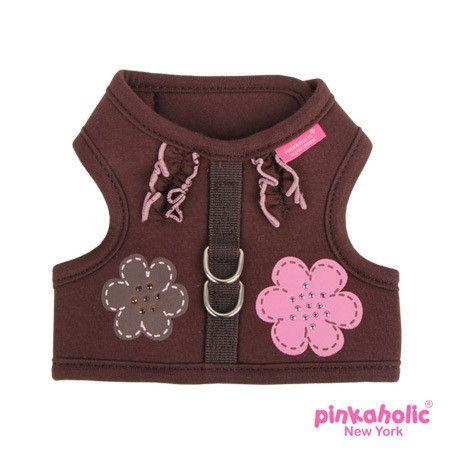 Pinkaholic Ny Choco Mousse Pinka Harness Wrap Around Velcro