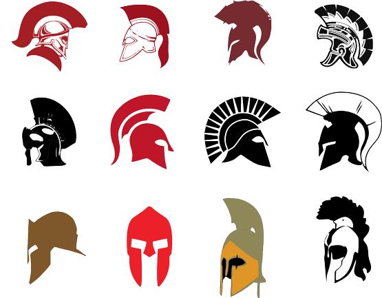 Spartan Helmet Vector Free Png 555 433 Dibujos Ilustraciones Tatuaje De Gladiador