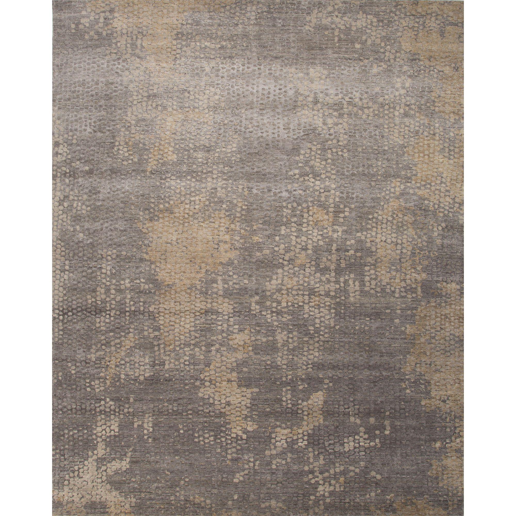 Chaos Theory Collection Naga Rug In Ashwood & Medium Gray