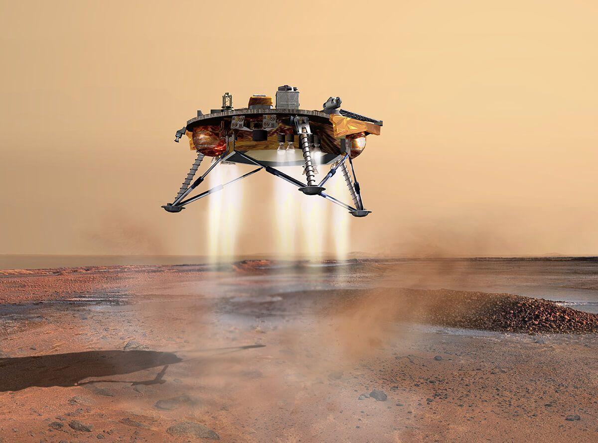 Nasa Insight Probe Just Landed On Planet Mars Mission To Mars Mars Probe Nasa Mars Mission