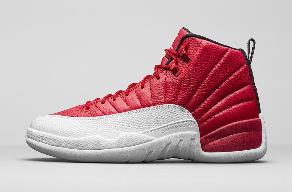 More Official Images Of The Air Jordan 12 Gym Red (Alternate)