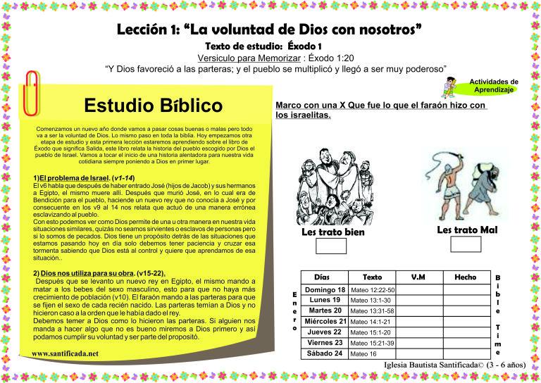 Iglesia De Niños Dios Ama A Los Niños Página 4 Voluntad De Dios Biblia Para Niños Dios Tiene Un Proposito