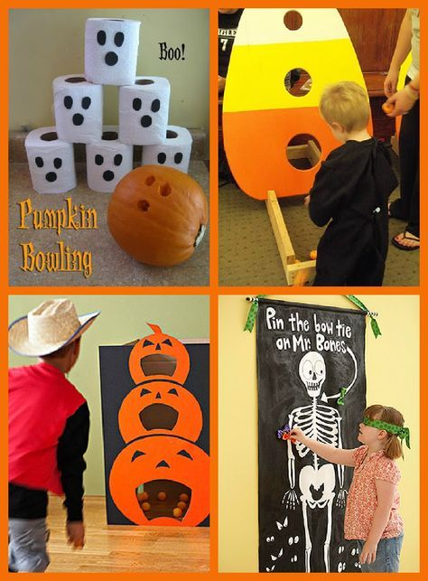 Halloween Party Games - since my son will be born around Halloween - halloween party ideas games