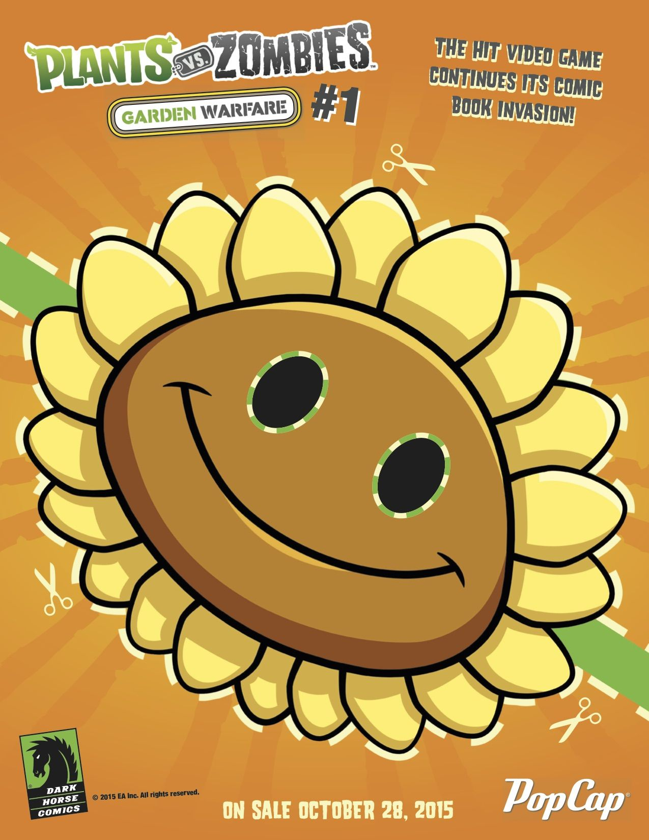 Free Printable Plants vs Zombies Masks Just In Time For Halloween ...