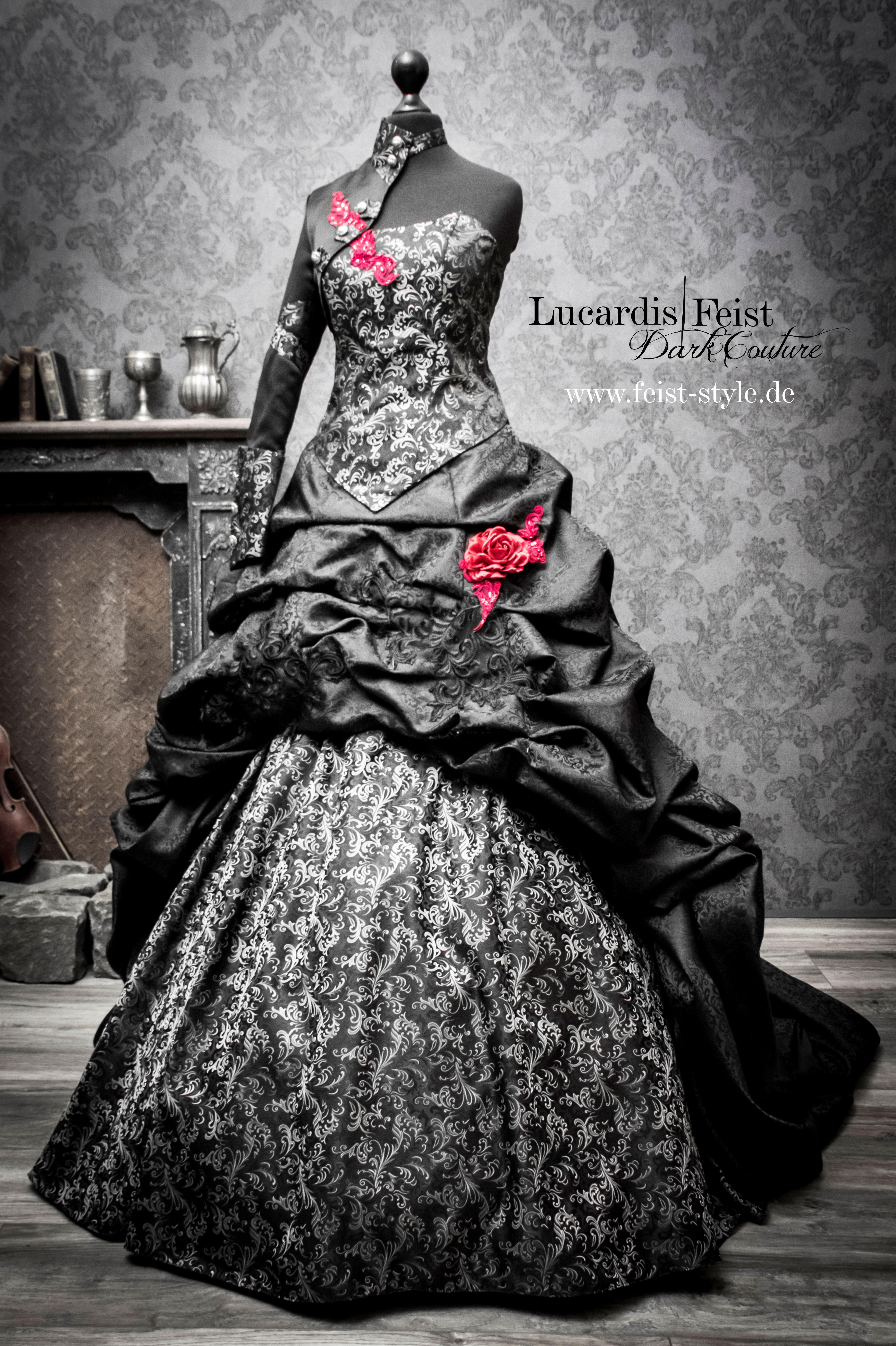 Victorian Gothic Bridal Dresses  Steampunk hochzeitskleid