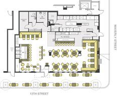Commercial Bar Design Plans Good Looking With Floor The Restaurant Ground Plan