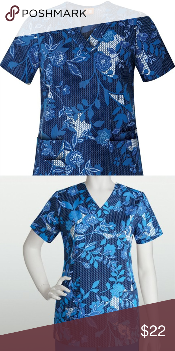029427847d6 2XL Barco ICU Medical Scrub Top Aly Update your scrubs wardrobe with this  gorgeous floral scrub