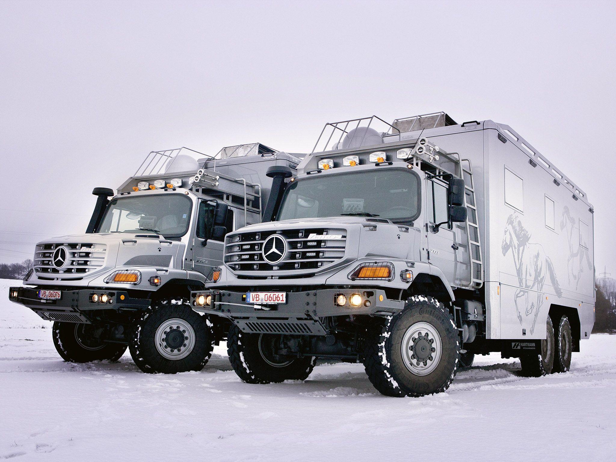 2011 Mercedes Benz Zetros 2733A Expedition Vehicle 6x6 Offroad Motorhome Camper G Wallpaper