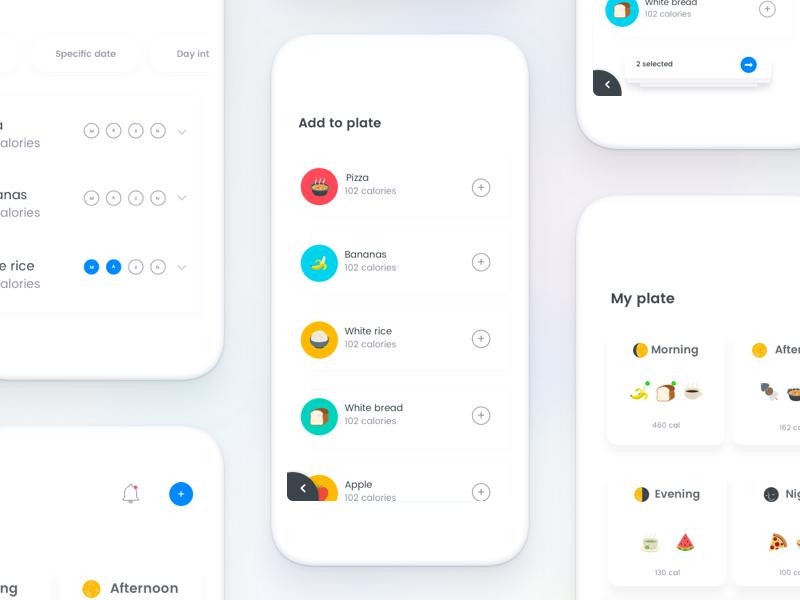 5 Invisible Series Diet App Diet Apps Web App Design App Design