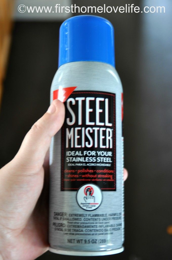 How To Clean Stainless Steel Steel Meister Stainless Steel Cleaning Stainless Steel Appliance Cleaner Stainless Steel Cleaner