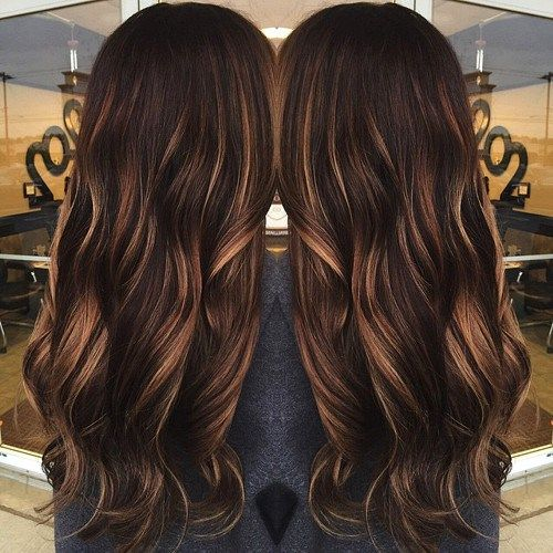 11 Ccolate Brown Hair Color Ideas for Brunettes | Dark brown ...
