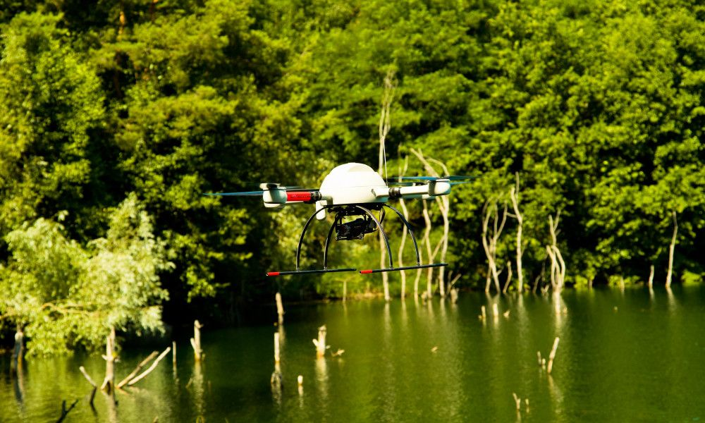 How drone technology is sowing environmental restoration