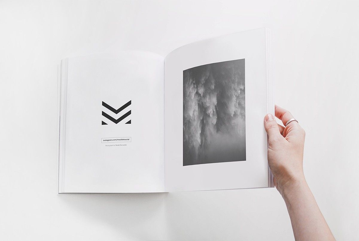 download free open book mockup template psd in this free mockup