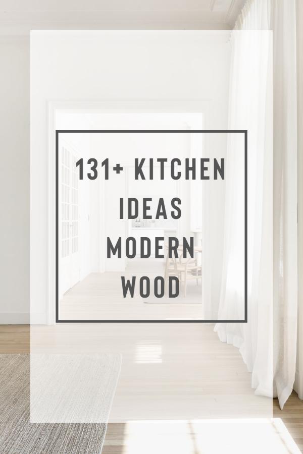 131+ Kitchen Ideas Modern Wood House O House O is a minimalist renovation located in Brasschaat, Belgium designed by Hans Verstuyft Architecten - Minimalist White Living Space #homedecor #whitewalls #whitehome