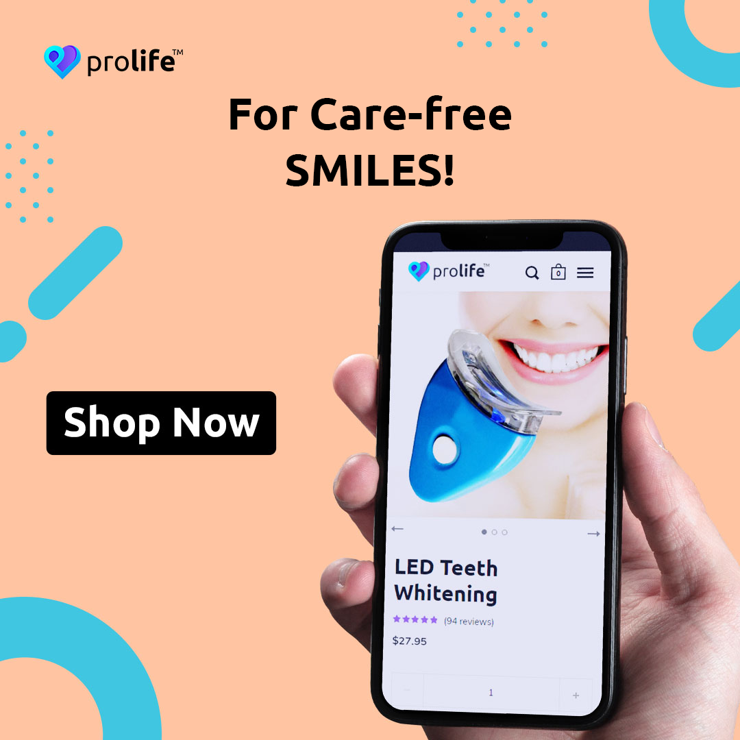 Insecure about off-white or yellowish teeth? Can't seem to smile wide for those Instagram perfect photos? With the LED Teeth Whitener, you can now forget those worries and have the pearly white teeth to smile your troubles goodbye! Follow us @theprolifeco for more updates, promos, new launches, and many more! #TheProLifeCo #ProLifeSelfCare #ProLife #OnlineShopping #WhiteTeeth #TeethWhitener #LEDTeethWhitener #SayCheese #SmileWide #SmileWithConfidence