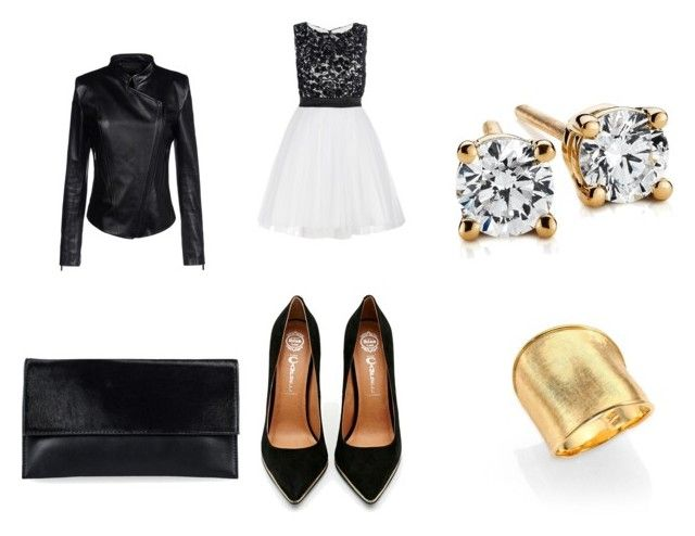 rock the look at $100 by lbkbymorgankate on Polyvore featuring Barbara Bui, Jeffrey Campbell, JFR, Marco Bicego and Blue Nile