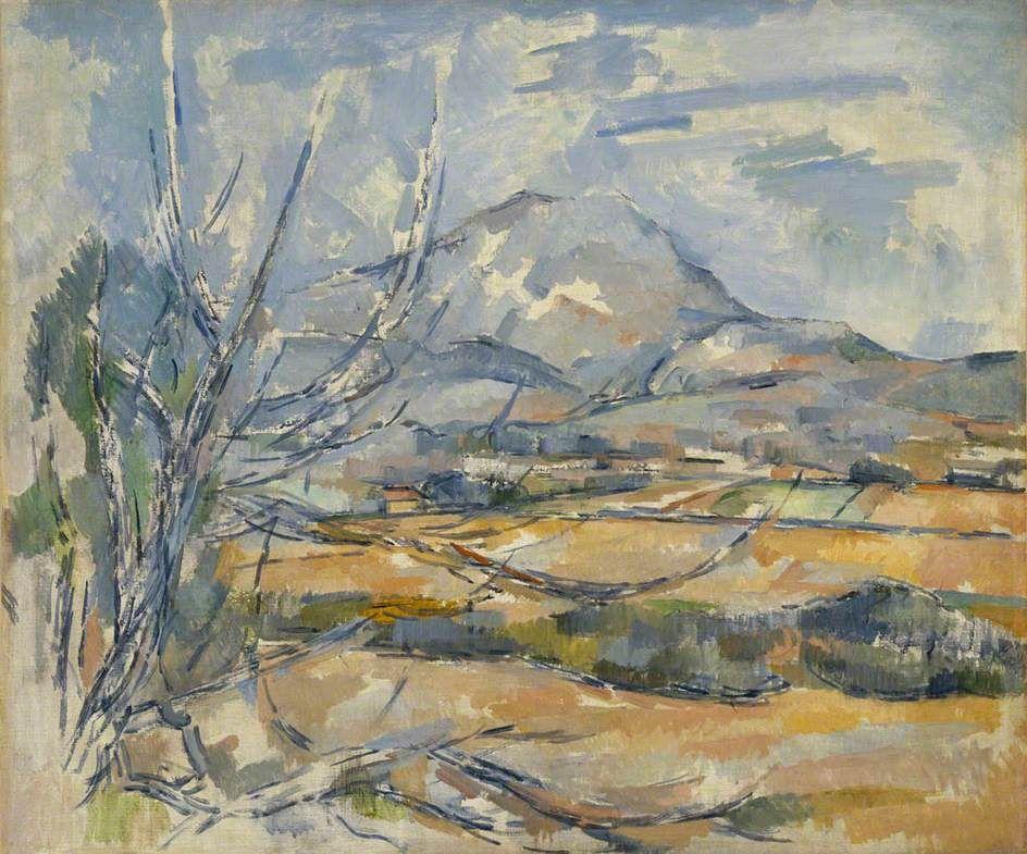 Montagne Sainte-Victoire - Paul Cézanne 1890-1895