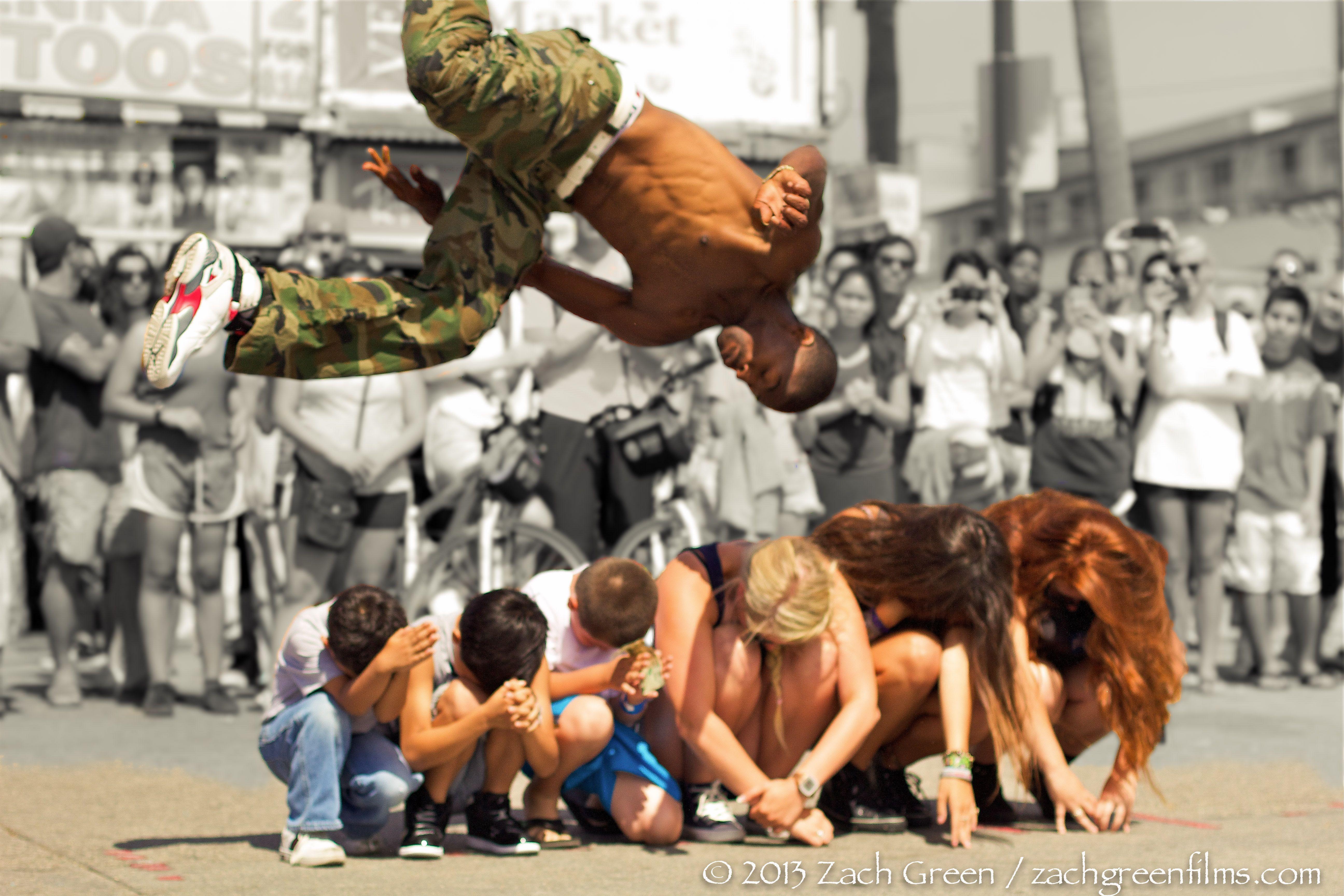 Venice Beach Street Performers Zach Green Films Mood Boards