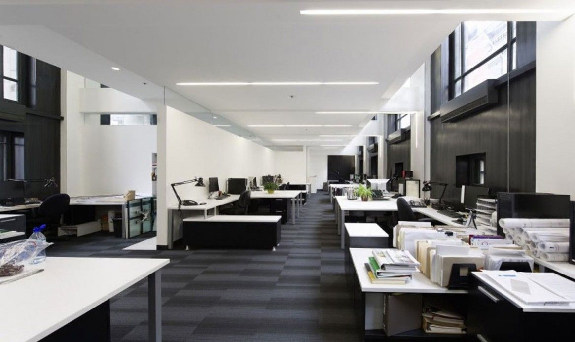 Office & Workspace: Stylish Modern Office Design Concepts Collections, Elegant Modern Office Design Concepts With Extended Space