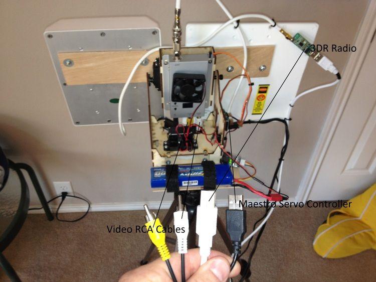 The Joe Average Antenna Tracker - Build/Parts/Explaination