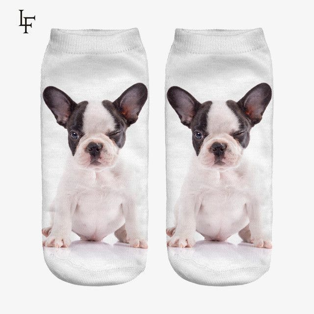 New Arrival Cute Woman Socks High Quality 3d Print Funny Polyester