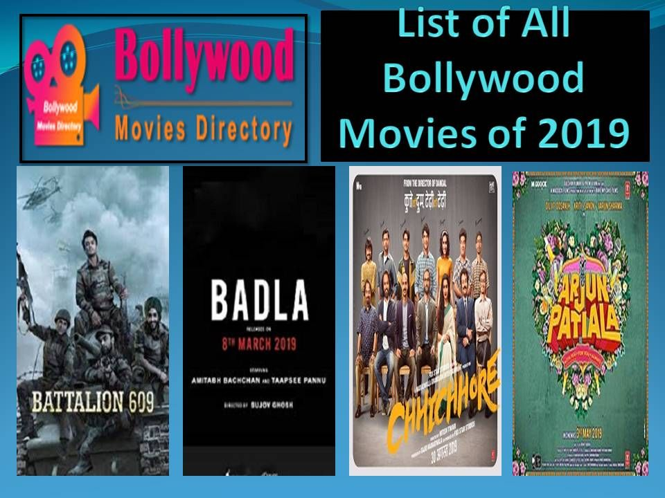 List Of All Bollywood Movies Of 2019 Bollywood Movies Movies Bollywood Movies List