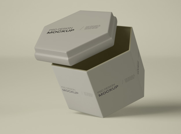 Download Cream Container Mockup Premium Psd File Di 2020