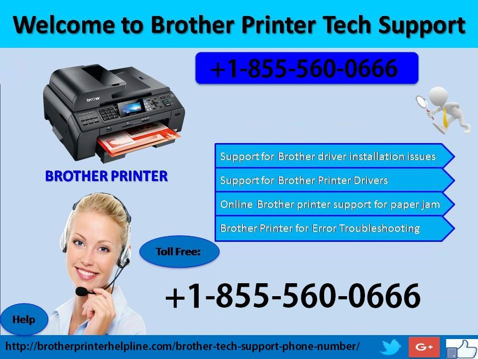 Our service of brother printer tech support phone number