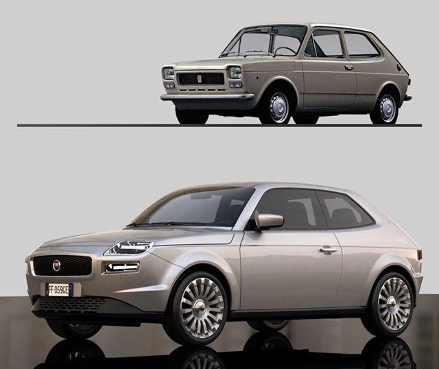 Designer Reimagines Fiat 127 For The 21st Century As The 500 S Big