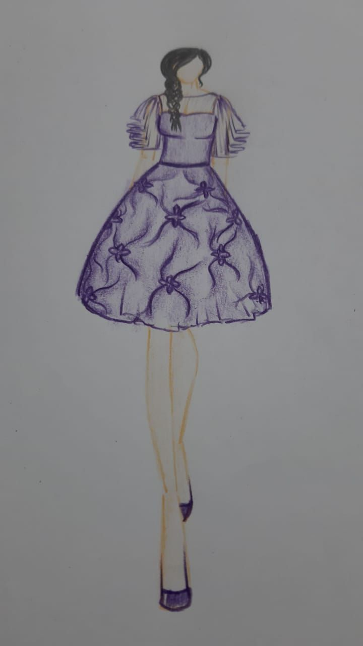 Today S Class In Fashion Illustration Fashion Designing Institute Fashion Designing Course Career In Fashion Designing