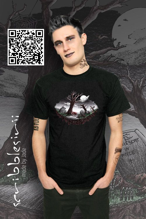 Requiescat In Pace – A handdrawn graveyard scenery… Getting goosebumps is guaranteed! #halloween #horrorcontest #Horror #scribblesirii #HalloweenWeekend #RIP #rip #goosebumps #cemetery #bat #bats #Grusel #fear #fürchten #angst #scare #bloody #scream #scary https://www.spreadshirt.de/horrorcontest+2017+scribblesirii-A113445531