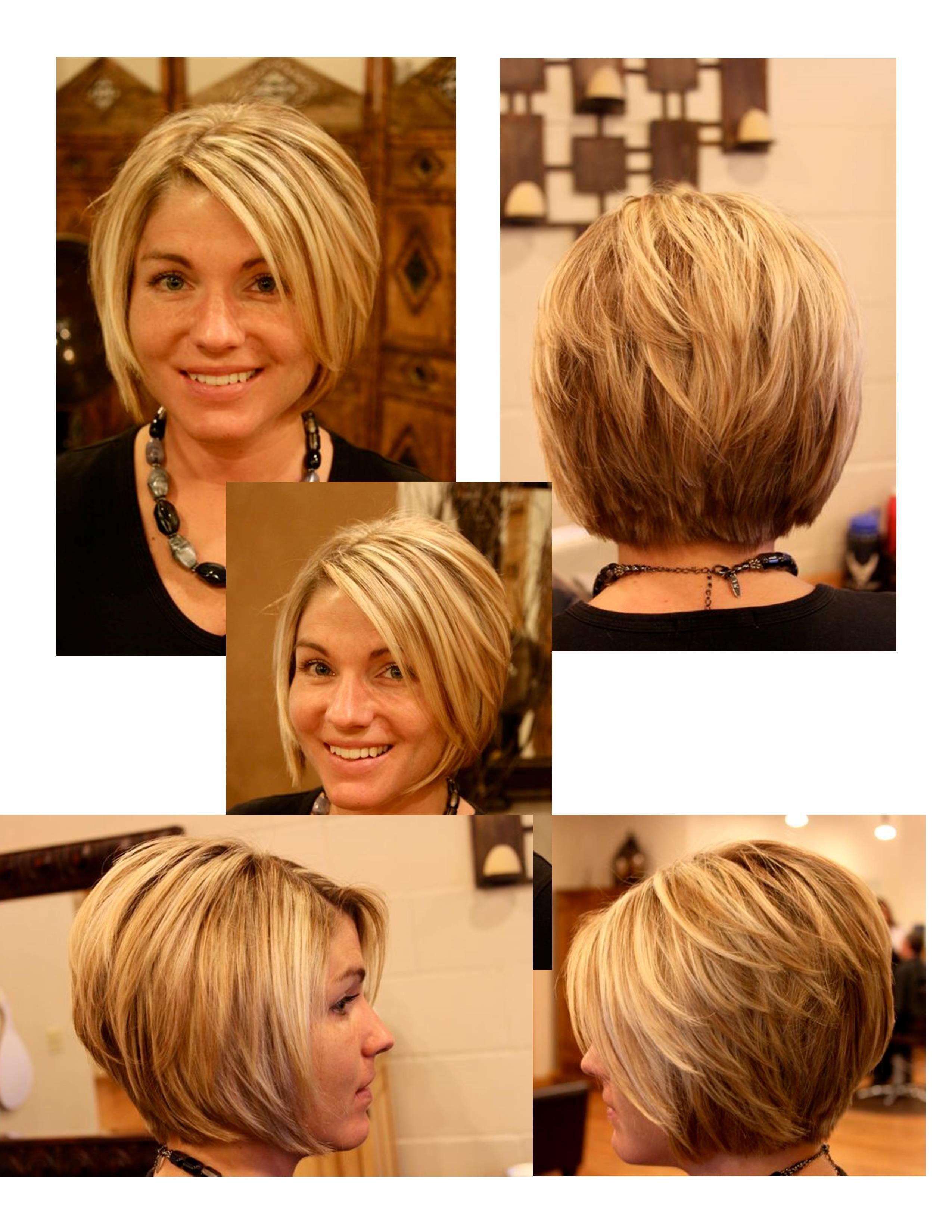 Einzigartige Frisuren Fur Kurz Geschichtetes Haar Frisur Thick Hair Styles Cute Hairstyles For Short Hair Bob Hairstyles