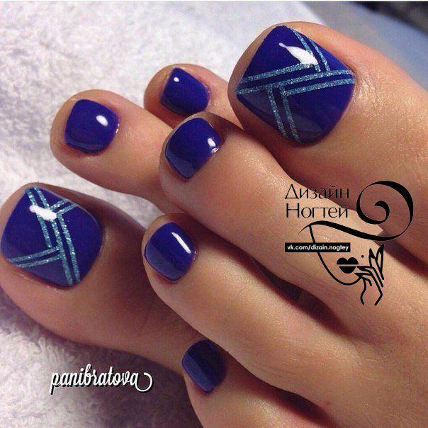 Toe Nail Art Design Ideas For Fall Winter: Toe Nail Art Design Ideas