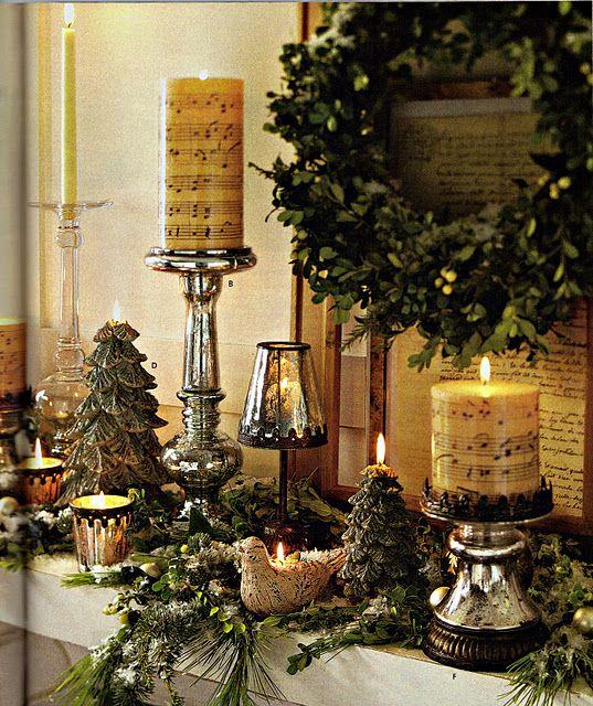 Copycat Mantle Pottery Barn Christmas Christmas Mantel