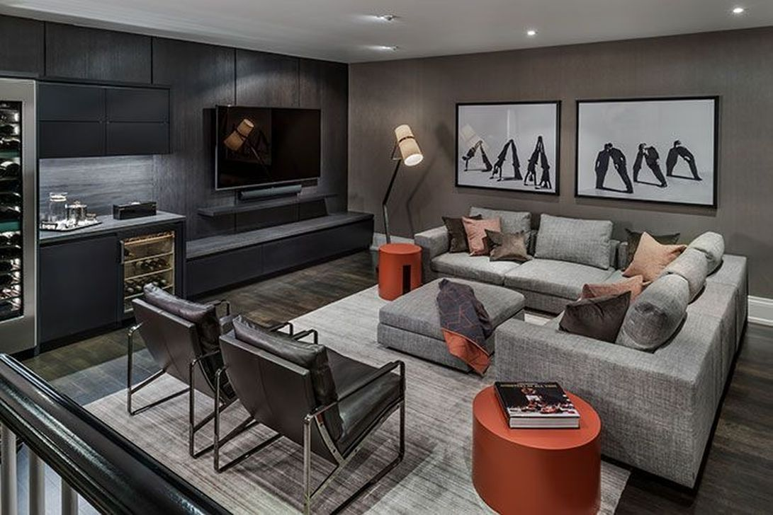 20 Cozy Masculine Living Room Design Ideas To Try Masculine