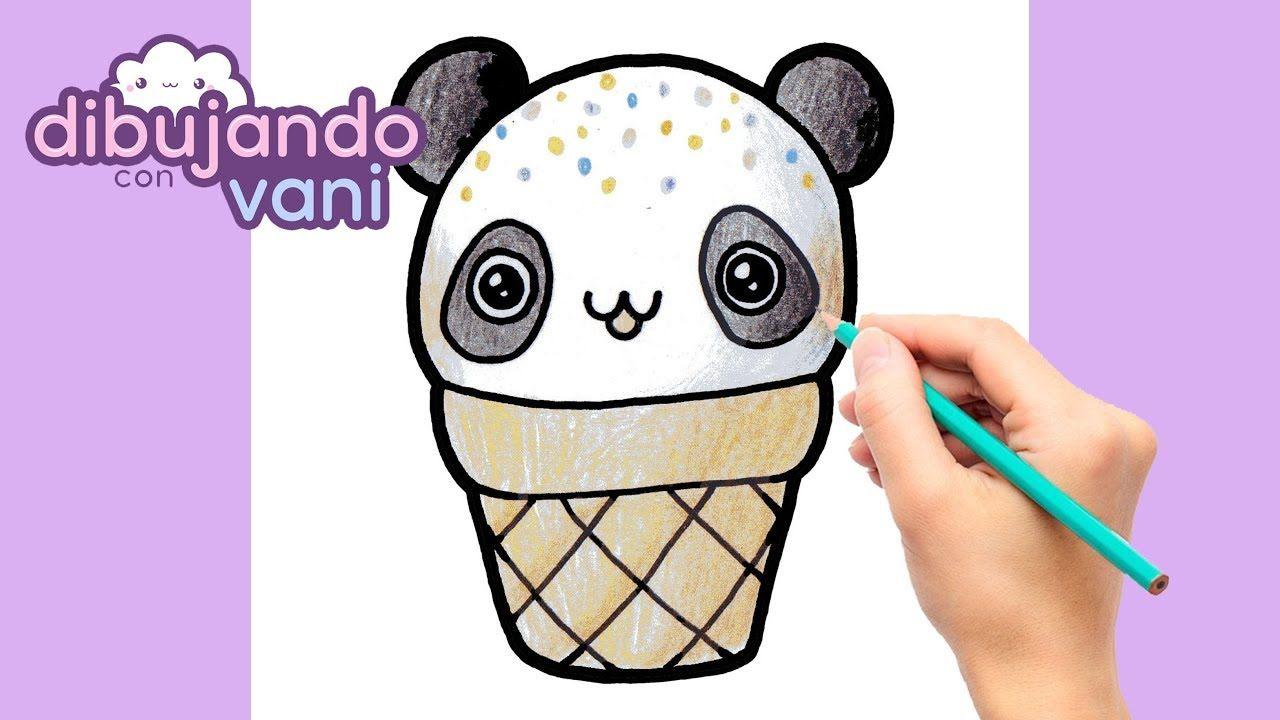 Como Dibujar Panda Helado Kawaii Dibujos Imagenes Faciles Anime