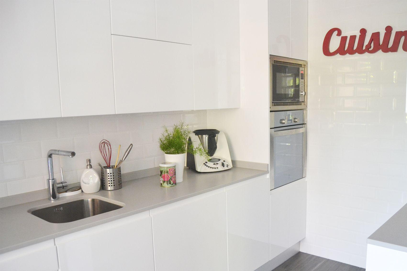Proyecto de interiorismo en Madrid: Cocina y baño.