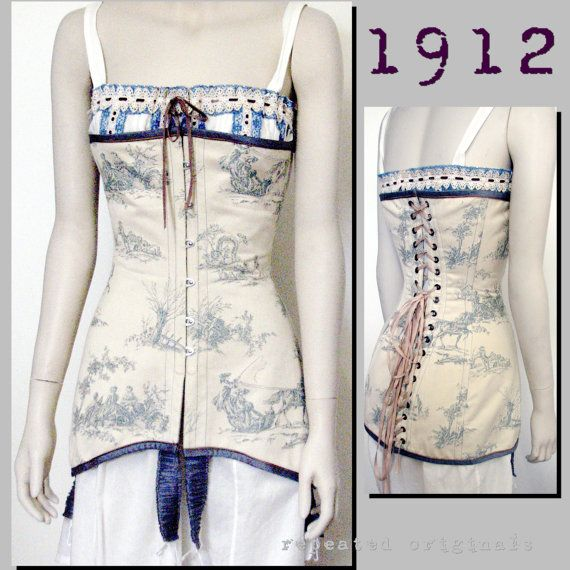 Edwardian Reproduction PDF Pattern 1910\'s by RepeatedOriginals ...