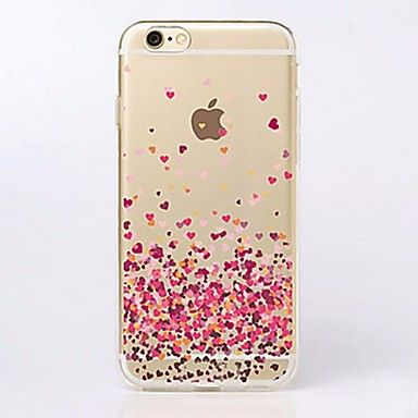 05ad47920c3 Para Funda iPhone 7 / Funda iPhone 7 Plus / Funda iPhone 6 / Funda iPhone 6  Plus Ultrafina / Transparente / Diseños Funda Cubierta Trasera - EUR € 1.75