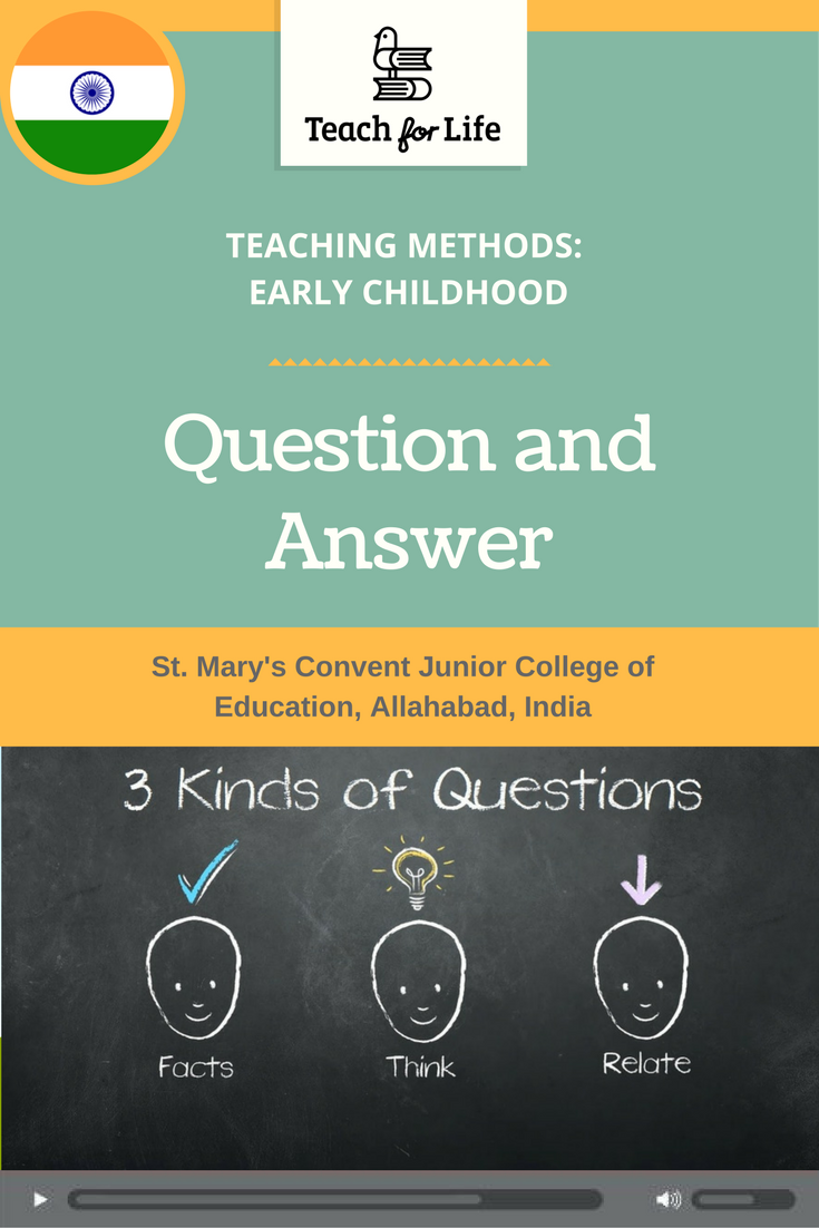 Asking questions during a lesson is better than just giving rote information to students. But ...