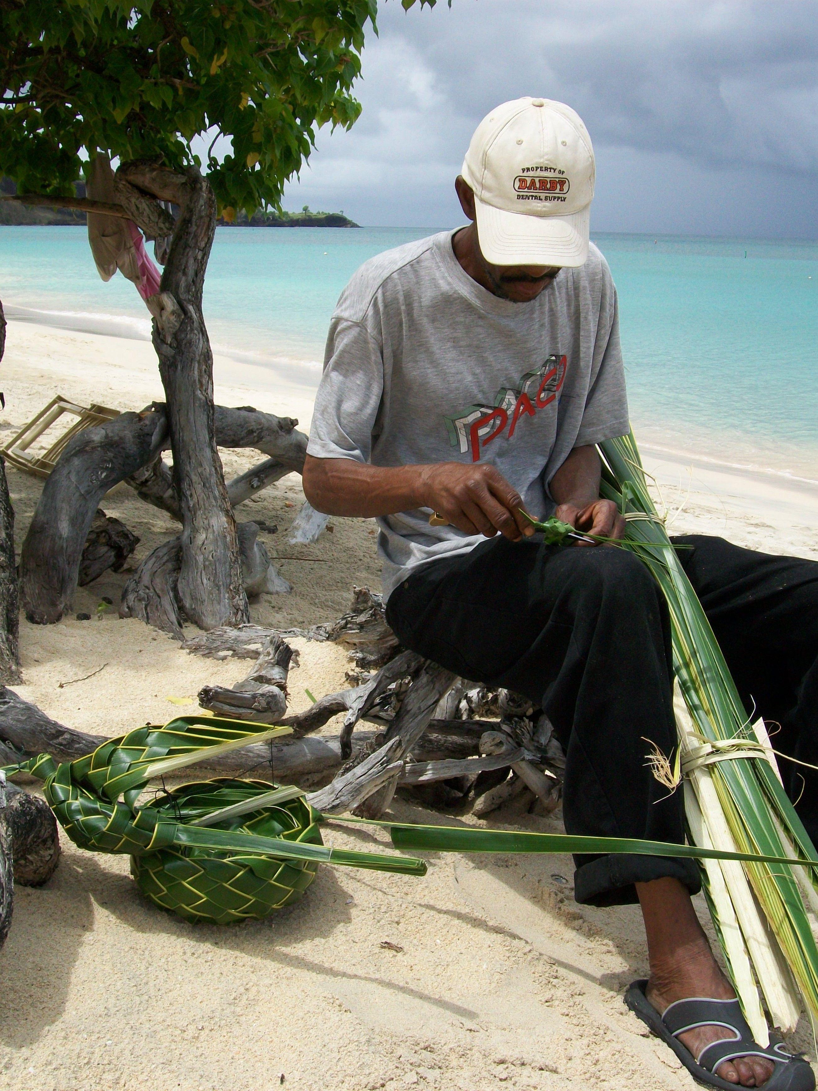 Basket Weaving, Grenada, Caribbean (With images) Grenada