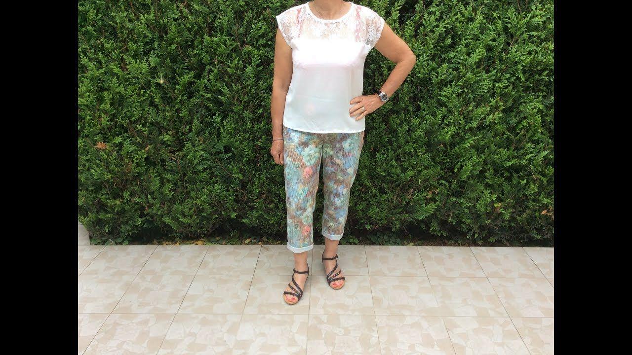 Coudre Couture Madalena Tuto Pantalon Court Un gYf76Ibyvm