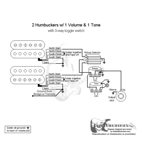 2 Humbucker Wiring Diagrams 1 Volume 1tone - Wire Diagram For Trailer  Lights - source-auto3.yenpancane.jeanjaures37.fr | Two Humbucker Wiring Diagram 1 Volume And 1 Tone |  | Wiring Diagram Resource