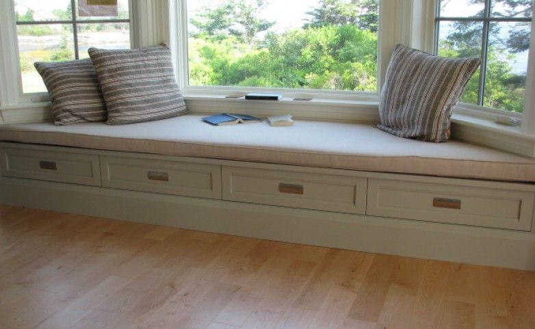 Box Bay Window Bay Window Seat Providing Lots Of Storage With