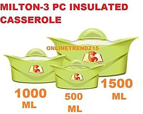 Milton 3 Piece Hot Pot Insulated Cerole Pack Food Warmer Gift Set3 Set Continue To The Product At Image Link