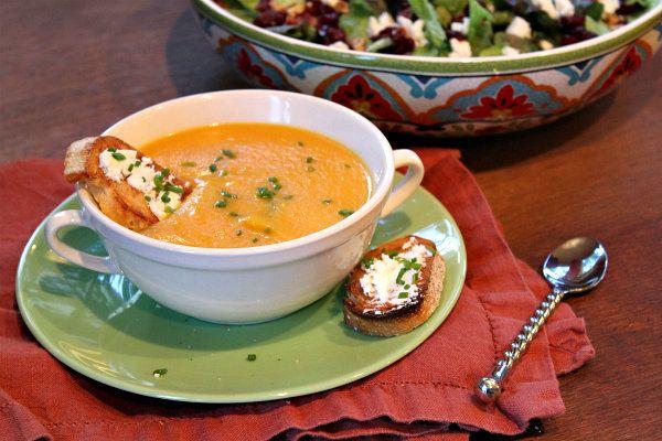Outono Sopa vegetal 1