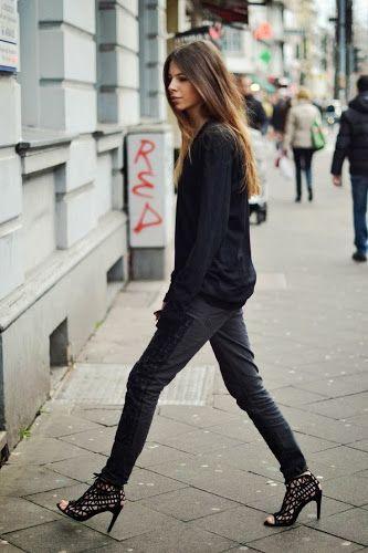 Fashion Cognoscente: Fashion Cognoscenti Inspiration: Black and White Style