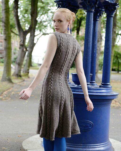 fc42546d3ba Icon Dress pattern by Kari-Helene Rane   Knitting Patterns I'd Like ...